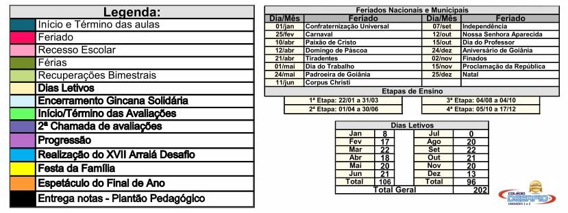 Desafio - Caledário 2020 - 2